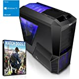 Kiebel Tornado XL [184188] Gamer-PC i7-6700K (4x4.0GHz) | 16GB DDR4-2666 HyperX | 250GB SSD + 1TB HDD | nVidia GeForce GTX 1070 8GB GDDR5 | ASUS Z170 | USB3 | DVD | Sound | LAN | 600W(80+) | Win10