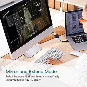 USB to VGA Adapter,CHILTINA USB 3.0 to VGA Adapter Multi-Display Video Converter- PC Laptop Windows 7/8/8.1/10,Desktop, Laptop, PC, Monitor, Projector, HDTV, Chromebook