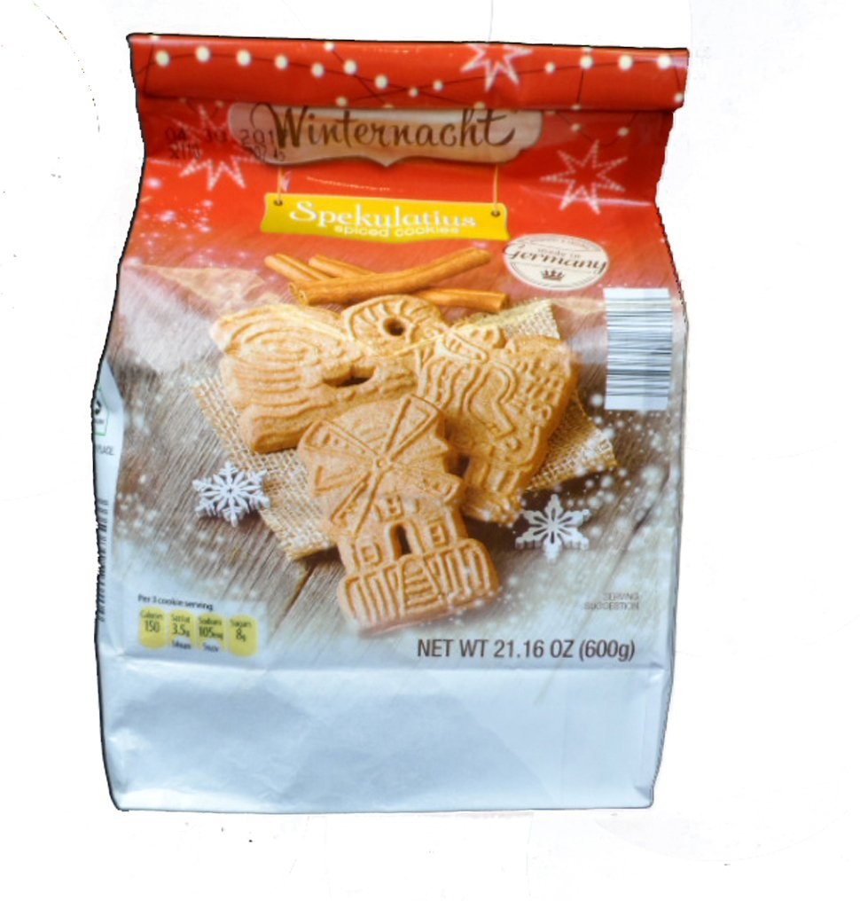 Amazon Com Spekulatius Spiced Cookies 21 16 Oz Grocery Gourmet