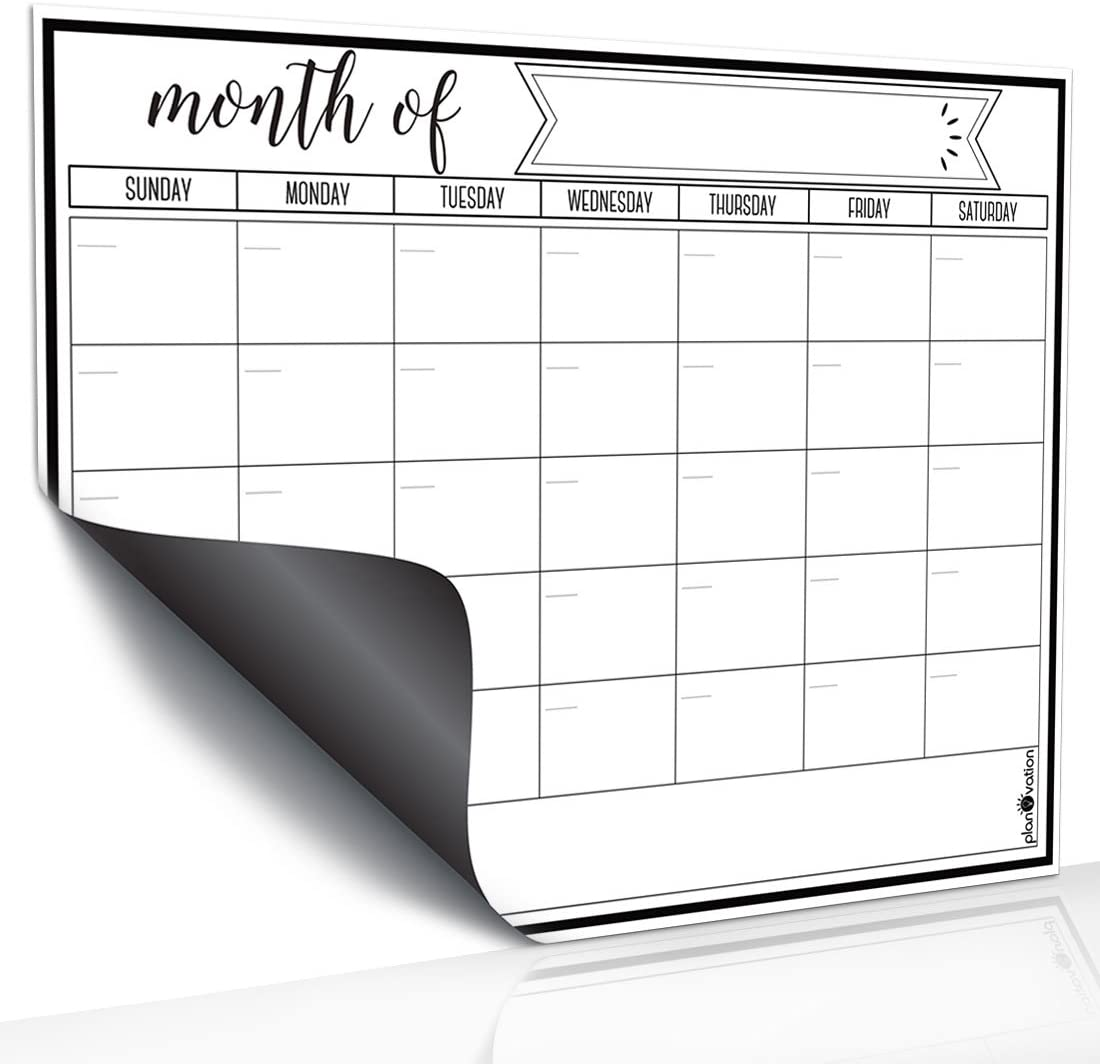 Home Teaching and Office Important Notes Message Board 118.3 Five-Piece Combination Dry Erase Board Bulletin Board AFAN Magnetic Refrigerator Calendar whiteboard Monthly Weekly Planning Table