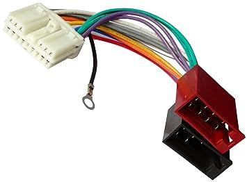 Kabel Radioadapter Radio Kabel Stecker ISO-Kabel Verbindungskabel ISO-Konverter Aerzetix Adapter