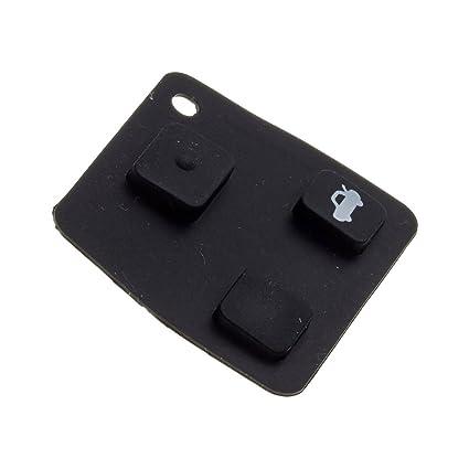 Toyota - Botones para llave mando de Toyota Avensis, Yaris y Carina: Amazon.es: Juguetes y juegos