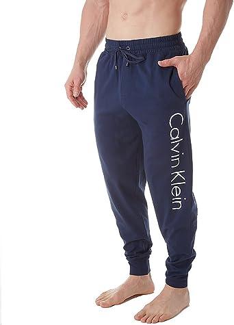 Calvin Klein Hombres NM1528 Parte Inferior de Pijama - Azul ...