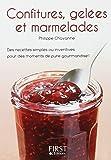 Le Petit Livre de - Confitures, gelées et marmelades