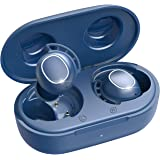 Wireless Earbuds, Mpow M30 in-Ear Bluetooth Headphones, Immersive Bass Sound, IPX8 Waterproof Sport Earphones, Touch Control, 25H Playtime/Mics/USB-C Quick Charge/Twin&Mono Mode, Blue