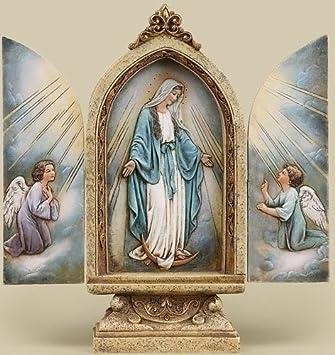 Our Lady of Grace Triptych Joseph s Studio, Roman 4143-9