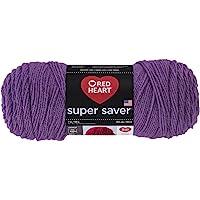 Red Heart Corazón rojo productos, Púrpura Medio, 1