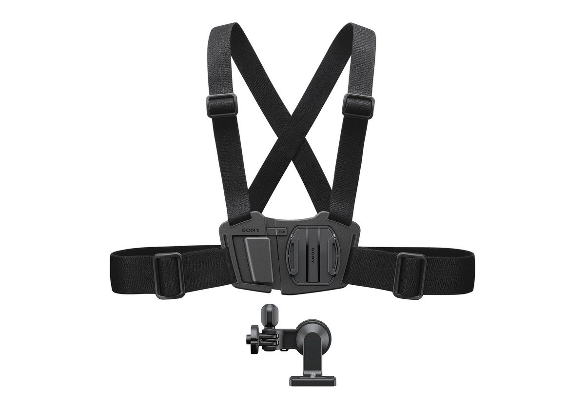 Sony AKACMH1.SYH Chest Mount Harness for The Sony Action Camera - Black by Sony