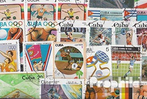 Cuba 50 différents marches (Timbres pour les collectionneurs) Prophila Collection