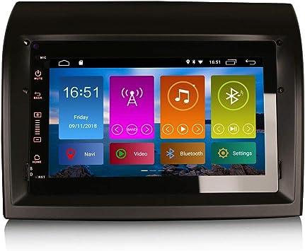 ERISIN 7 Pulgadas Android 10.0 Estéreo de Automóvil para FIAT ...