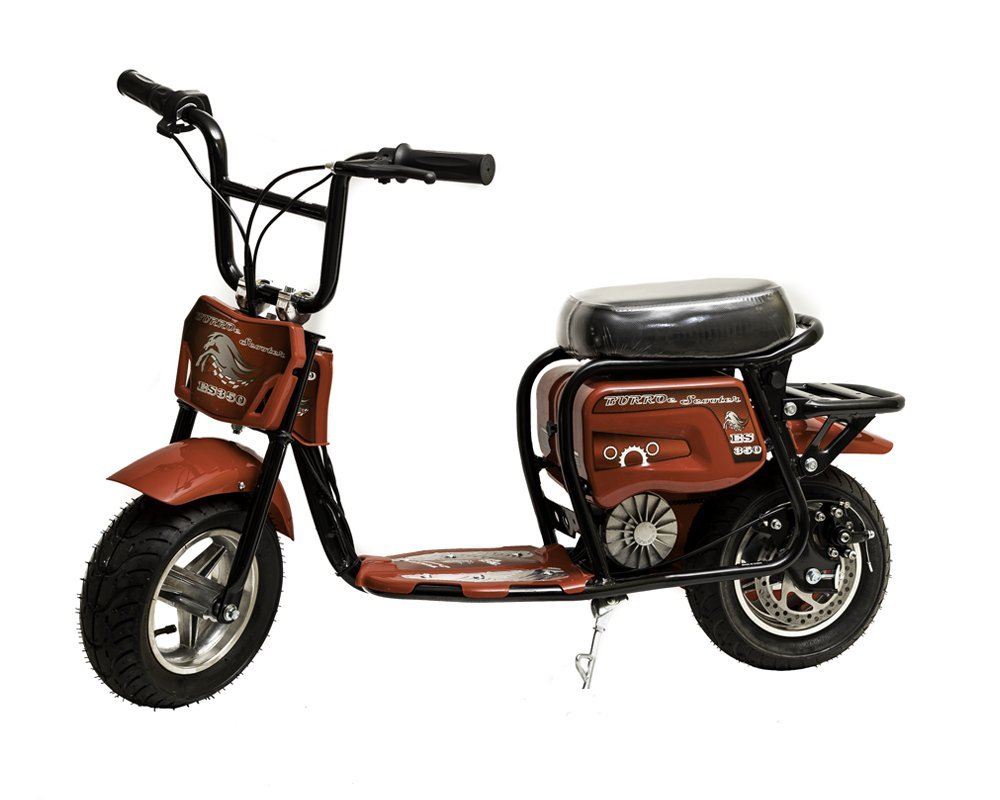 Burromax ES350 Electric Mini Bike 350W Scooter, Red