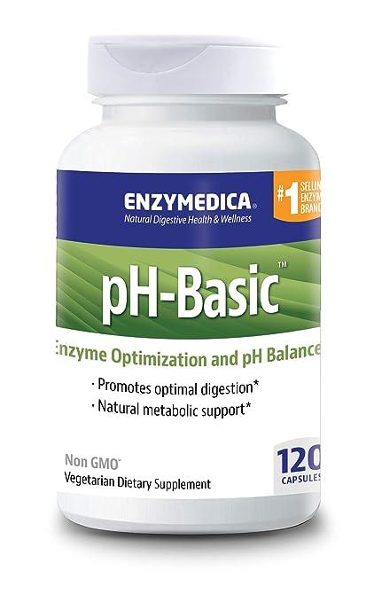 Enzymedica - pH-Basic - 120 cápsulas: Amazon.es: Salud y ...