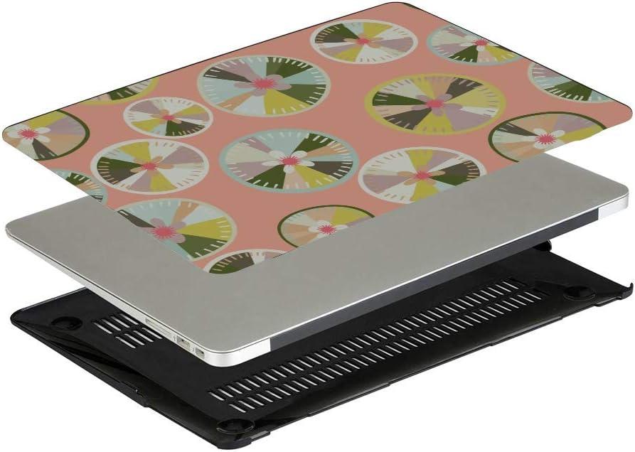 15 Inch Laptop Cover Summer Sour Retro Cute Fruit Lemon Plastic Hard Shell Compatible Mac Air 11 Pro 13 15 MacBook 2017 Case Protection for MacBook 2016-2019 Version