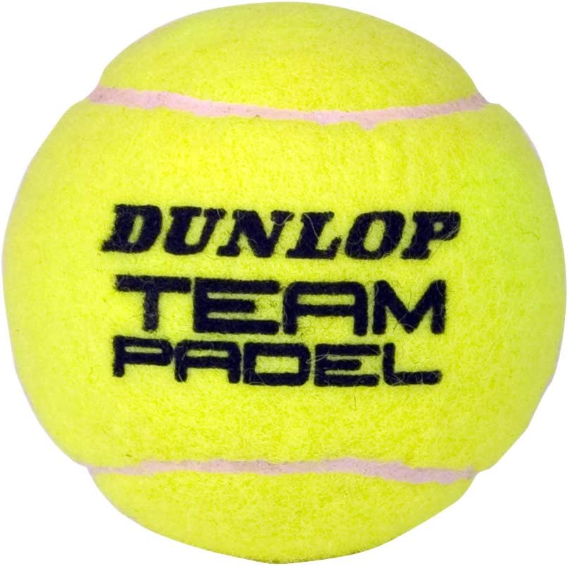 Dunlop TB Team Padel Pelotas Bote, Adultos Unisex, Amarillo, 3 Uni ...