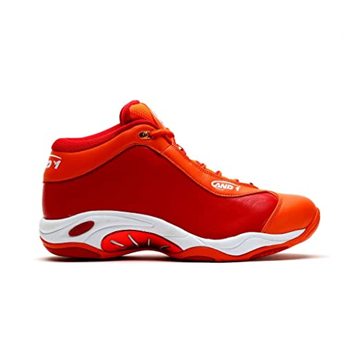 AND1 Mens Tai Chi Basketball Shoe 11 Red