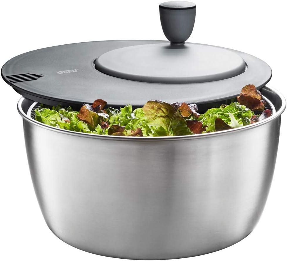 Gefu Essoreuse /à salade Rotare acier inoxydable
