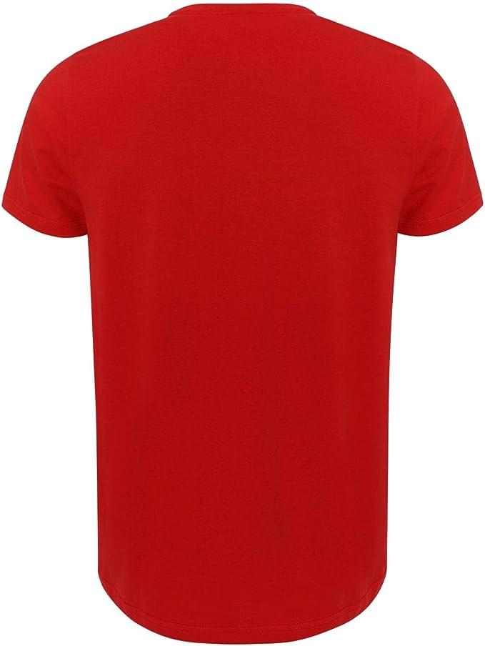 Liverpool FC Camiseta Hombre Roja YNWA Liverbird LFC Oficial ...