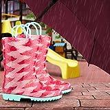 ZOOGS Children's Rain Boots with Handles, Little