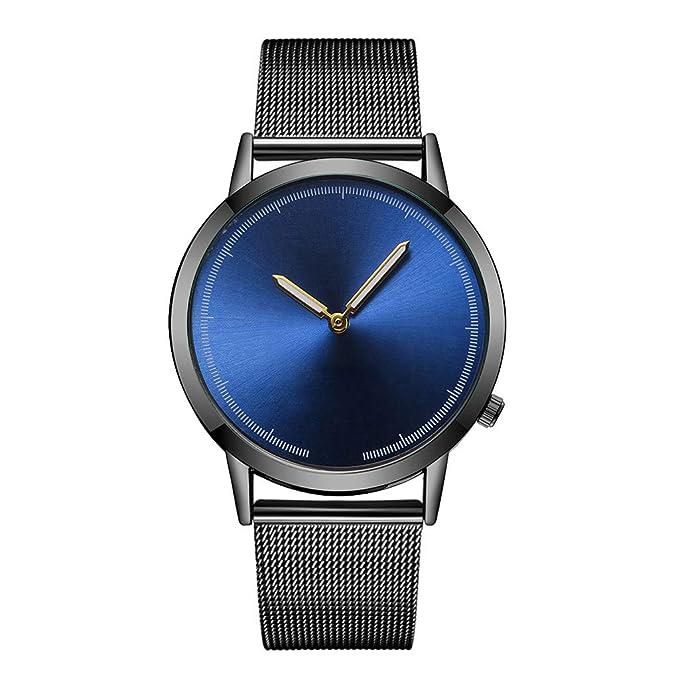 Mymyguoe Reloj de Pulsera Hombre analogico Relojes Hombre Unisex Reloj de Pulsera Relojes de Pulsera para Hombres Reloj Mujer Reloj analogico Reloj de Dama: ...