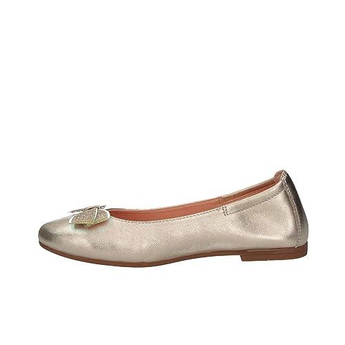 d5d5df49c0 Unisa DORAL LMT Platino Ballerina Bambina: Amazon.it: Scarpe e borse