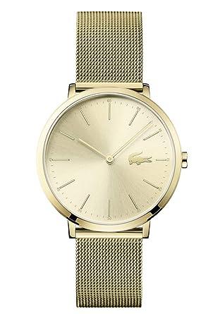 Lacoste Reloj Análogo clásico para Mujer de Cuarzo con Correa en Acero Inoxidable 2001000: Lacoste: Amazon.es: Relojes