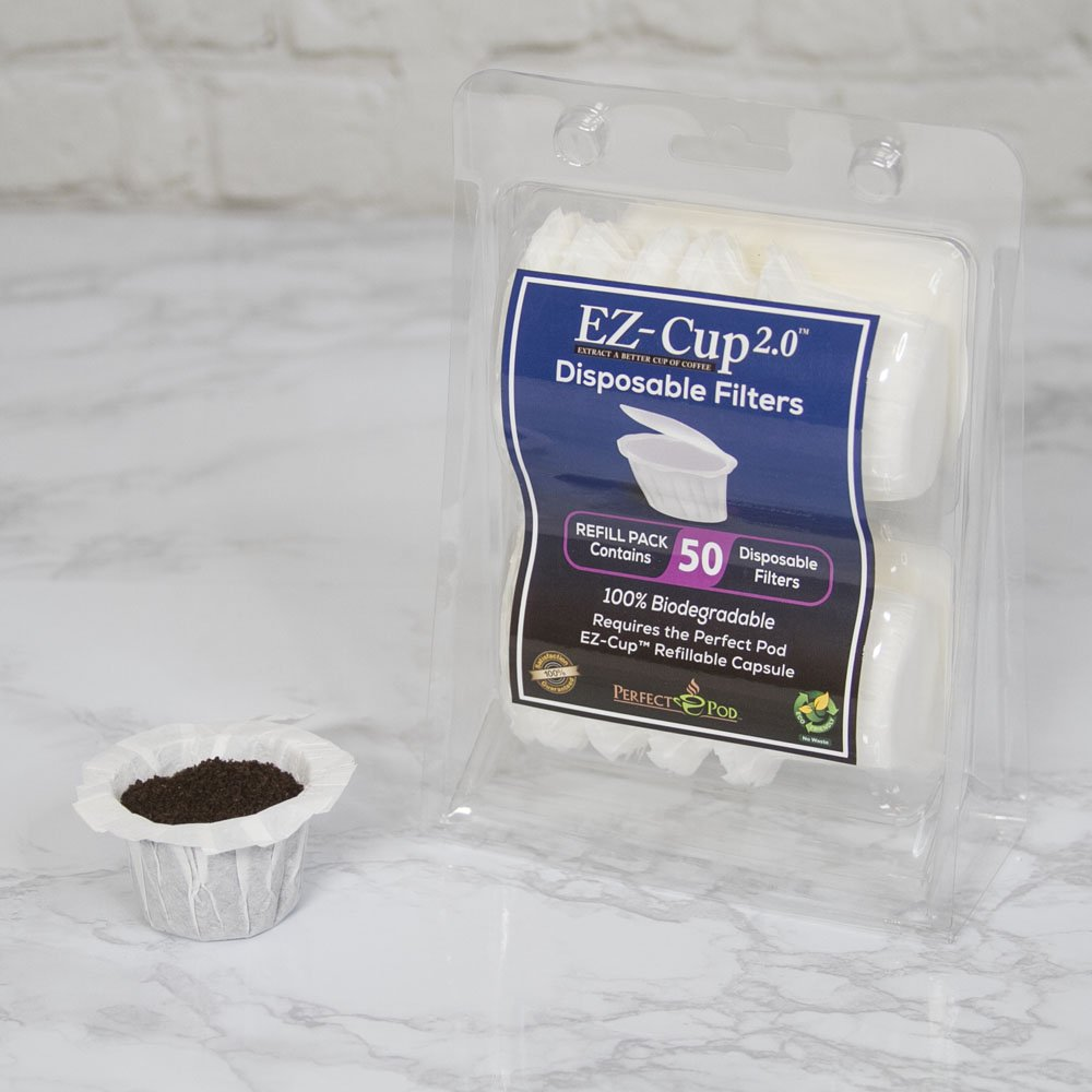 EZ-Cup Filters by Perfect Pod - 4 Pack (200 Filters) by Perfect Pod (Image #4)