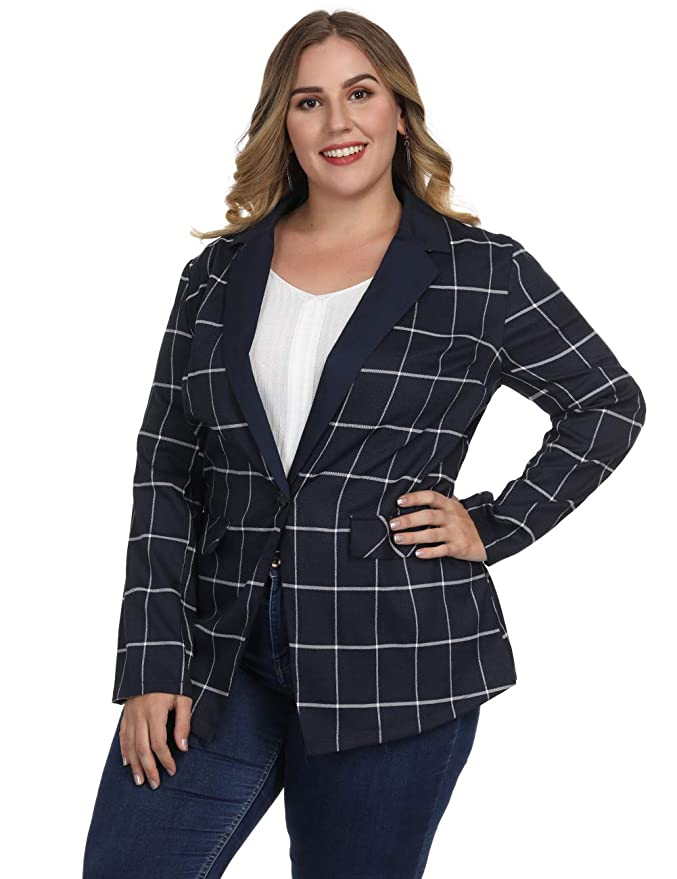Amazon.com: Fancyqube - Chaqueta para mujer, estilo casual ...