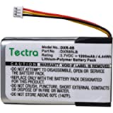 Tectra 1200mAh DXR-8 Replacement Battery for Infant Optics DXR-8 Video Baby Monitor, SP803048 Lithium Ion Rechargeable…