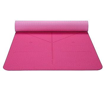 DJY Colchoneta De Yoga Estera De Yoga Para Ejercicios De ...