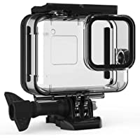 F1TP Waterproof Case for GoPro Hero 8 Black, Underwater Protective Shell,Accessories with Bracket, with Quick Release…