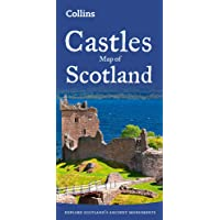 Castles Map of Scotland (Collins Pictorial Maps) [Idioma