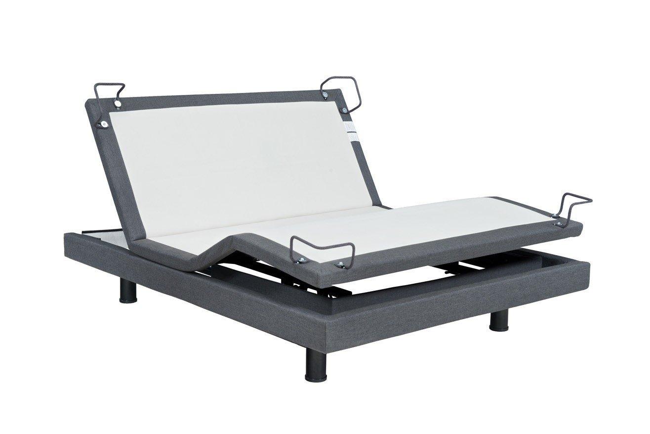 Reverie 7S Adjustable Bed Base, Furniture Style, Wireless, Wall Snuggler, HD Massage, Zero Gravity, Memory, Bluetooth, Night Light (Full)