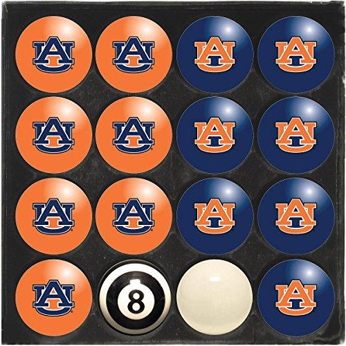 Imperial International Auburn Tigers Home VS. Away Billiard Ball Set