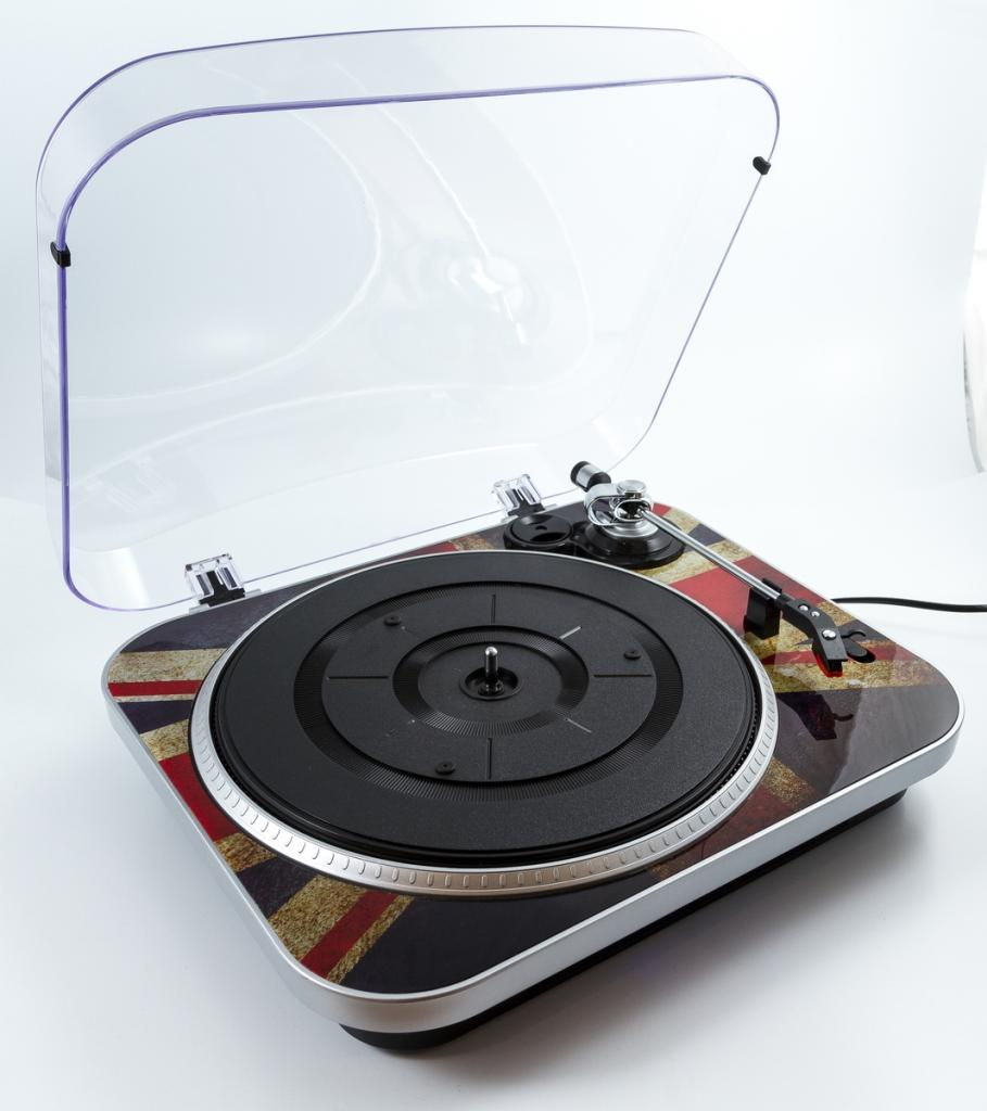 Gpo Jam 3 Speed Stand Alone Vinyl Turntable With Amazon