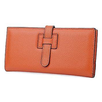 Ultradünne Damenbrieftasche Khaki 19 5 Cm 9 5 Cm 1
