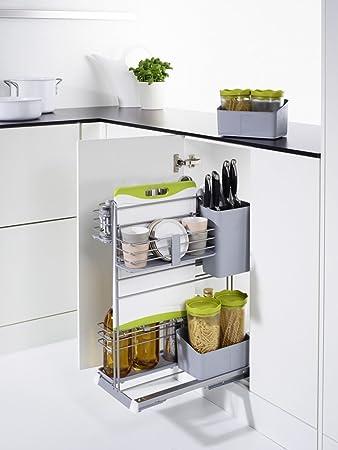 Putzutensilien Aufbewahrung kesseböhmer cookingagent modularer schrankauszug frontauszug für