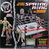 WWE Stunt Action Spring Ring with 2 Figures: Bobby Lashley & Finlay
