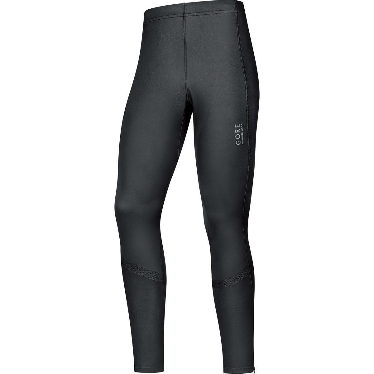 Gore Running Wear, Men's Running Tights, Windproof, Stretch, Gore Windstopper, AIR WS, TWTAIR Men's Running Tights