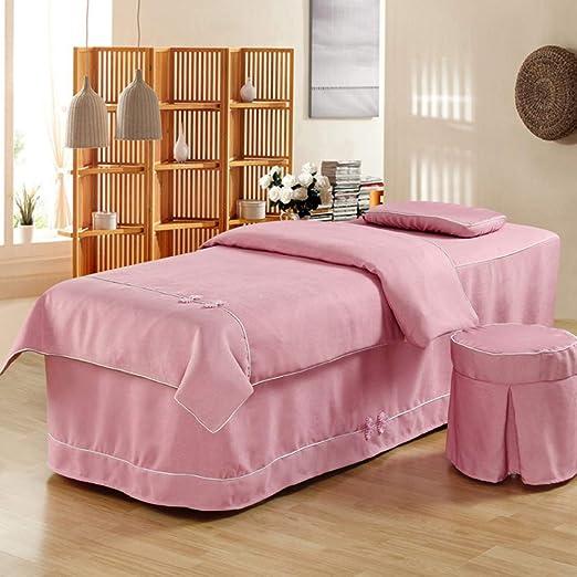 Premium Belleza Cubierta De Cama,masaje De Mesa Falda Almohada ...