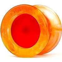 YoyoFactory Replay Pro Yo-Yo Professional niereakcyjne Yo-Yo z łożyskiem kulkowym i sznurkiem - pomarańczowy/czerwony…