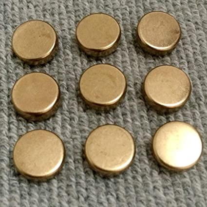 Amazon com: Kamas Hot Sell 100Pcs 9MM Gold Round Flat Rivets