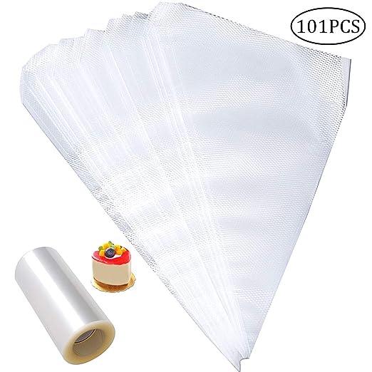 pengxiaomei - 100 Bolsas de plástico Desechables para ...
