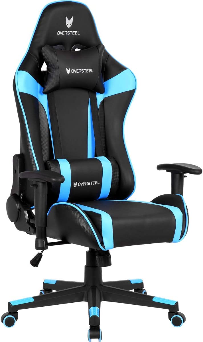 Oversteel - Silla gaming profesional ULTIMET, azul