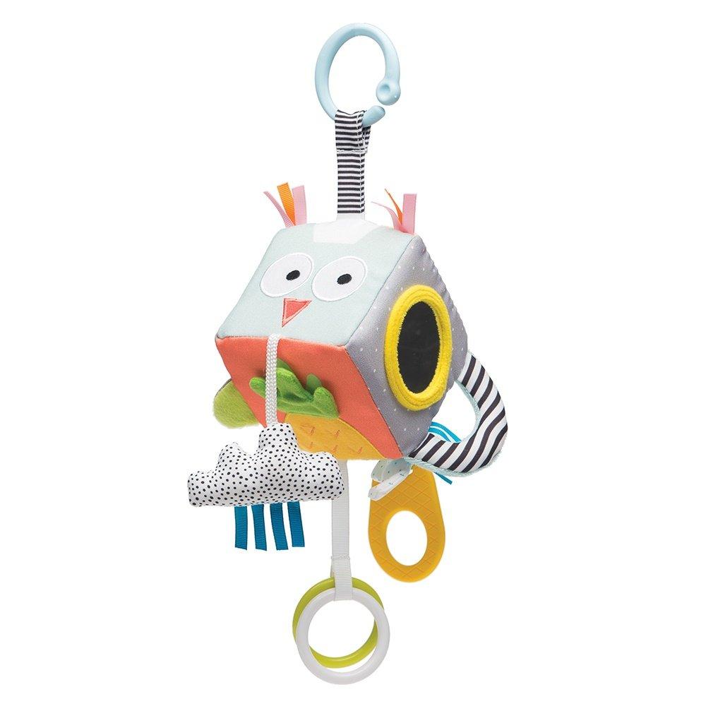 Taf Toys Baby's Development Cube | 3+ Months Baby's Curiosity Enhancer, Promotes Imagination, Senses & Motor Skills, Pram, Crib & Car Seat Attachable, Toys for Easier Envelopment and Easier Parenting