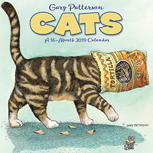 Gary Patterson's Cats Mini Wall Calendar (2019)