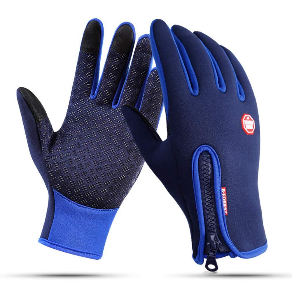 Lisianthus Winter Termal Gloves Touchscreen Waterproof for Men & Women Purple L BSS0095-012-1