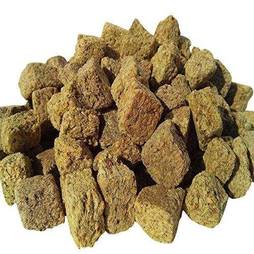 Freeze Dried Brine Shrimp Cubes, Aquatic Foods Freeze Dried Tropical Fish Foods … 1/4-lb by Aquatic Foods Inc.