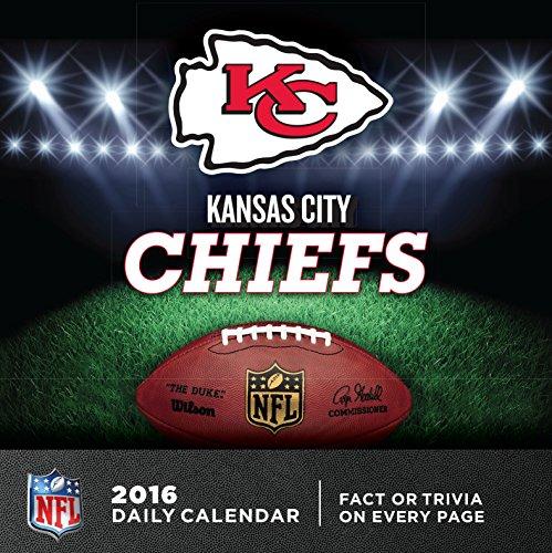 Turner Kansas City Chiefs 2016 Box Calendar, January-December (8051442)