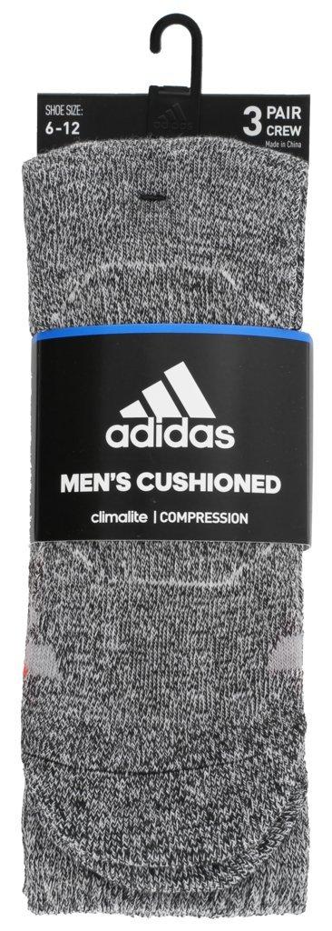 The Adidas Men's Originals Roller Crew in Light Onix, Black and White