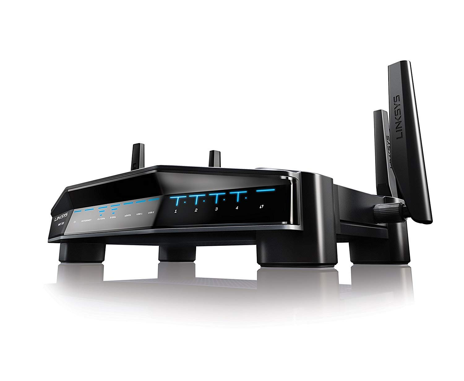 Linksys AC3200 Dual-Band WiFi Gaming Router with Killer Prioritization Engine (WRT32X) by Linksys